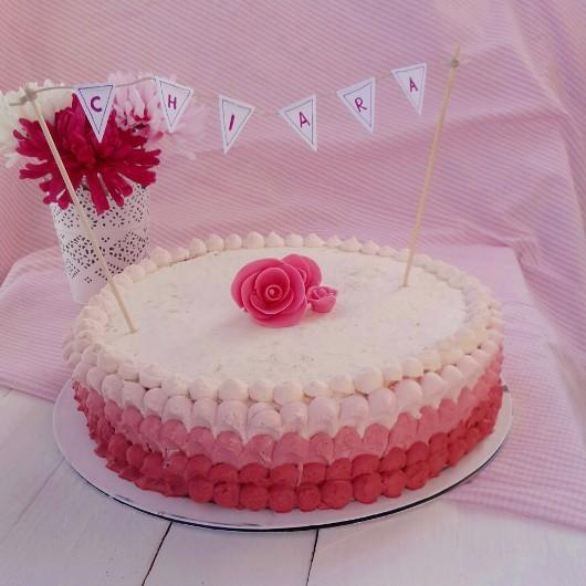 The bakery 2 go rosa ombr himbeertorte for Dekoration bestellen